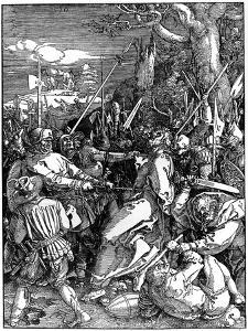 The Capture of Christ, 1510 by Albrecht Durer