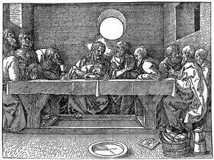 The Last Supper, 1523 by Albrecht Durer