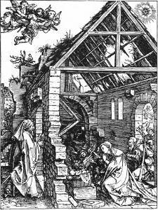 The Nativity, C1503 by Albrecht Durer