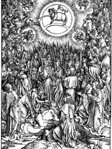 The Revelation of St John (Apocalyps), C1498 by Albrecht Durer