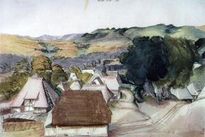 View of Kachreuth, Near Nuremberg, 1511 by Albrecht Durer