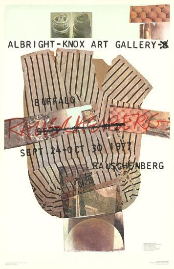 Albright-Knox Gallery-Robert Rauschenberg-Collectable Print