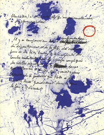 Album 19 Original Lithographs Page 6-Joan Miro-Premium Edition