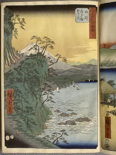 Album de la série des Cinquante-trois relais du Tôkaidô-Ando Hiroshige-Giclee Print