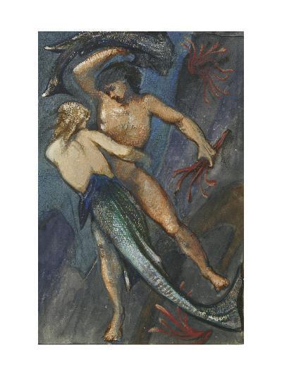 Album of Forty-Eight Drawings-Edward Burne-Jones-Giclee Print