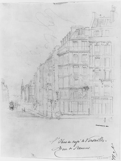 Album of the Siege of Paris, Shell of Cafe De Versailles, Rue De Rennes-Gustave Dor?-Giclee Print
