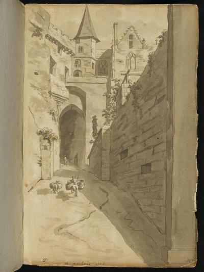 Album : Rue avec diverses architectures-Pierre Henri de Valenciennes-Giclee Print