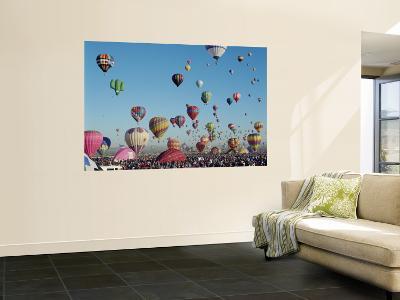 Albuquerque Balloon Fiesta, Albuquerque, New Mexico, USA-Steve Vidler-Wall Mural
