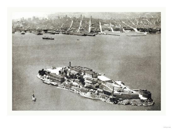 Alcatraz Island, San Francisco, California--Art Print
