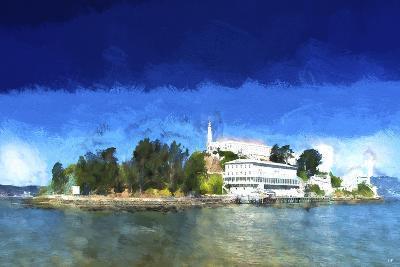 Alcatraz Island-Philippe Hugonnard-Giclee Print
