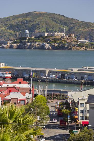 Alcatraz, San Francisco, California, Usa-Rainer Mirau-Photographic Print