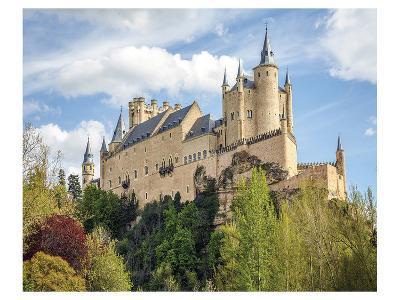 Alcazar Castle Segovia Spain--Art Print