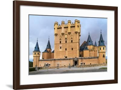 Alcazar of Segovia (Spain)-Zechal-Framed Photographic Print