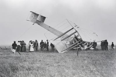Alcock and Brown's Aircraft Crash-Landed in Derrygimla Bog--Photographic Print