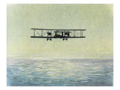 Alcock and Brown--Giclee Print