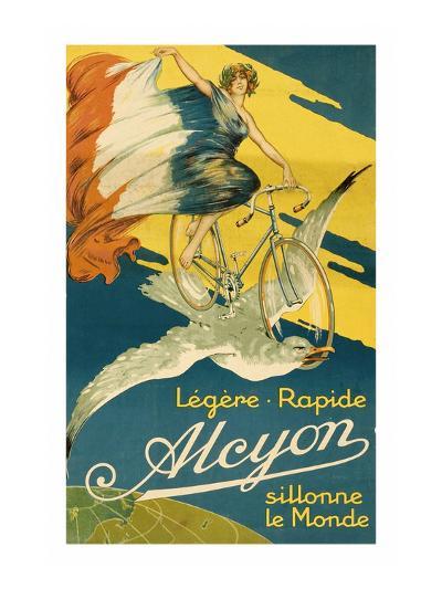 Alcyon Bicycles--Art Print