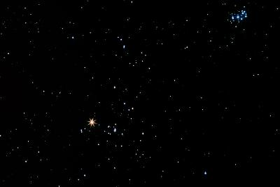 Aldebaran Star In the Constellation of Taurus-John Sanford-Photographic Print