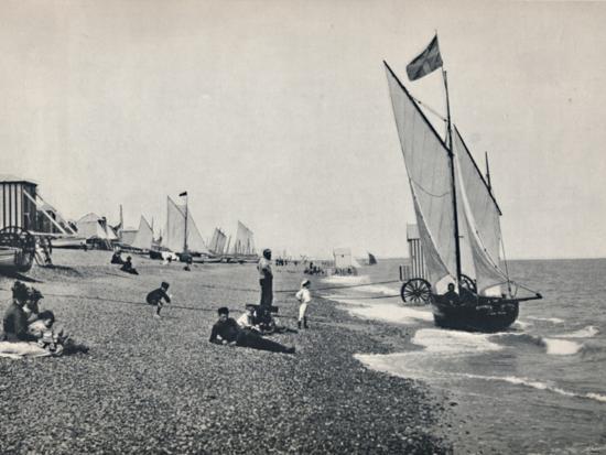 'Aldeburgh - The Beach', 1895-Unknown-Photographic Print