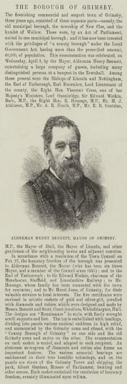 Alderman Henry Bennett, Mayor of Grimsby--Giclee Print