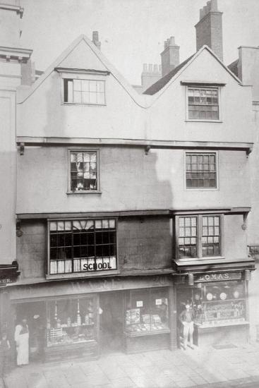 Aldersgate Street, City of London, C1875--Giclee Print