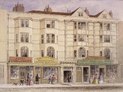 Aldersgate Street, London, 1851-Thomas Hosmer Shepherd-Giclee Print