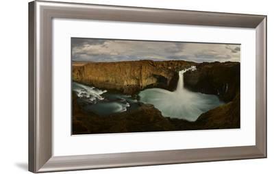 Aldeyjarfoss Waterfalls in Iceland-Raul Touzon-Framed Photographic Print