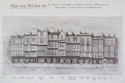Aldgate High Street, London, C1862--Giclee Print