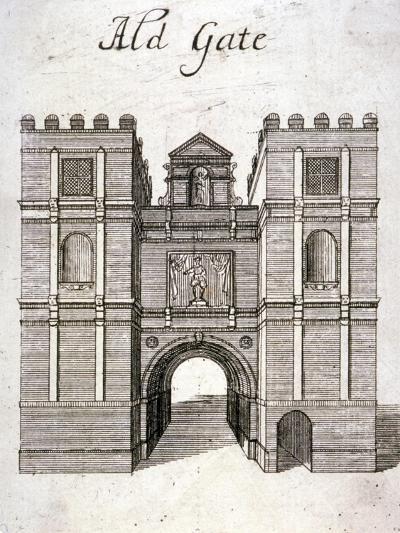Aldgate, London, C1800--Giclee Print
