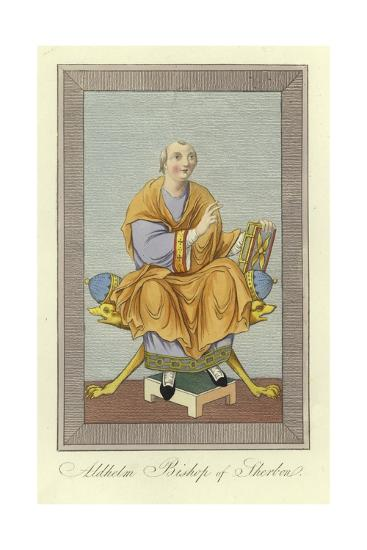 Aldhelm, Bishop of Sherborne--Giclee Print