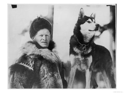Alec Allan Scotsman Best Known for Training Sled-Dogs for Work and Racing--Giclee Print