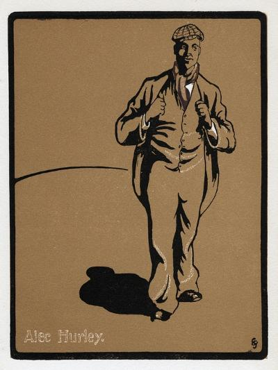 Alec Hurley (1871-191), Music Hall Star, Late 19th Century--Giclee Print