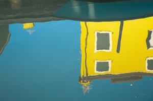 Reflections of Burano VIII by Aledanda