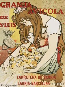 Granja Avicola de Sn. Luis, 1896 by Alejandro De Riquer
