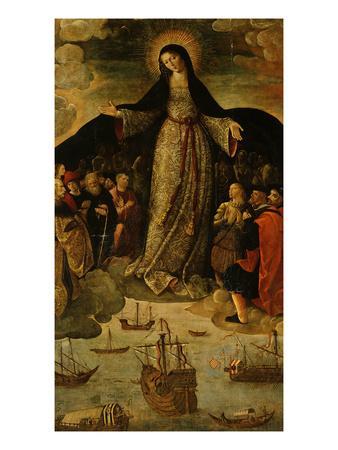 Virgin of the Navigators, Altarpiece (Central Panel)