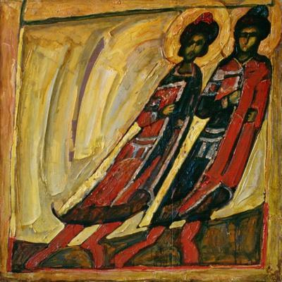 St. Boris and St. Gleb, 1989
