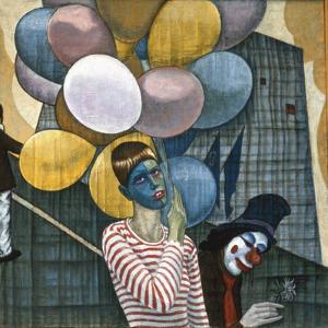 The Carnival, or the Lesbians, 1980 by Alek Rapoport