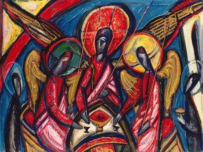 Trinity in Dark Tones, Genesis 18, 1994
