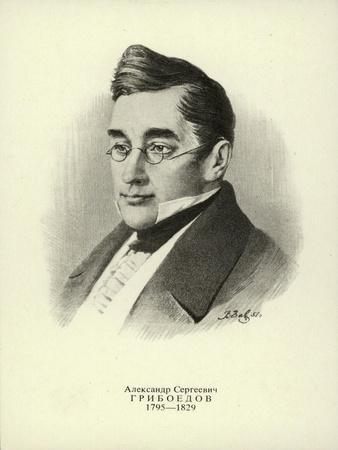 Aleksander Griboyedov, Russian Diplomat, Playwright, Poet and Composer--Framed Giclee Print