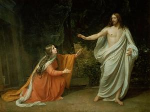 The Appearance of Christ to Mary Magdalene, 1835 by Aleksandr Andreevich Ivanov