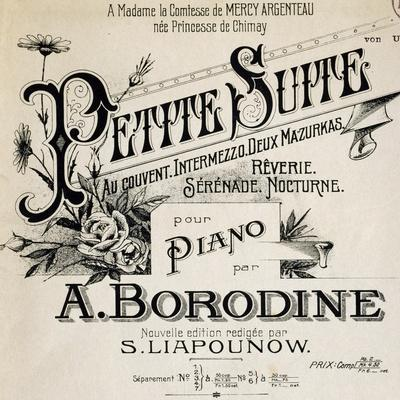 Title Page of Score for Little Suite