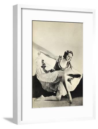 Aleksandra Dionisyevna Danilova, from 'Footnotes to the Ballet', Published 1938