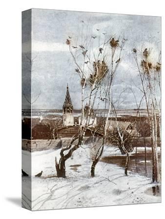Savrasov: Ravens, 1871