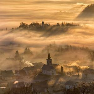 Misty Morning by Ales Krivec