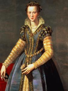 Marie De Medici (1573-1642), Wife of Henri IV of France (1553-1610) by Alessandro Allori