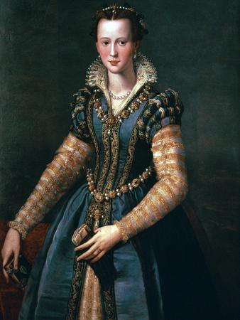 Portrait of Maria De Medici, 16th Century