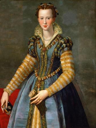 Portrait of Maria De' Medici, Ca 1555
