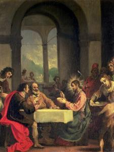 Supper at Emmaus by Alessandro Allori