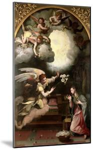 The Annunciation, 1579 by Alessandro Allori