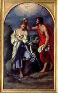 The Baptism of Christ by Alessandro Allori
