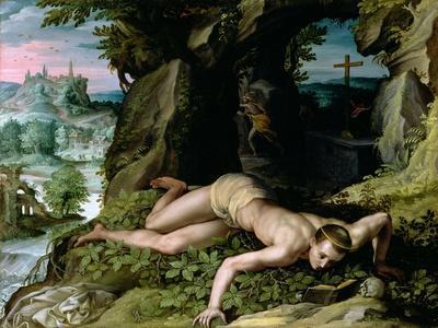 The Temptation of St. Benedict, C.1587